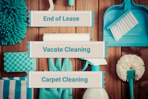 100% complete end of lease/vacate/housekeeping/regular cleaning