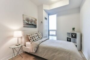 Room Rent - Luxurious Condo near Leslie -*FEMALE Roommate ONLY