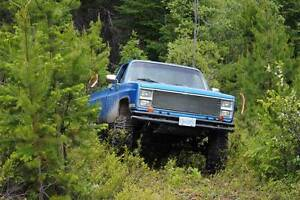Lifted 1983 Chevy 4x4 - $10500 (Pemberton, BC)