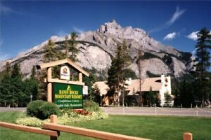 BANFF Rocky Mountain Resort - August 4 to 11.