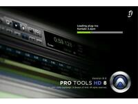 Digidezign pro tools 7.2hd and 8hd software and licences.