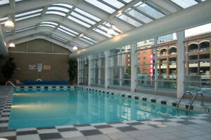 Downtown Waterfront View 2BR Condo, Gym, Pool Downtown-West End Greater Vancouver Area image 6