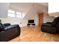 Spacious two bedrooms penthouse apartment in Archway, London, N19