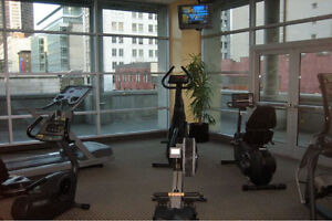Avail NOW or May 1 - Downtown Vancouver Harbour View 1BR+Den