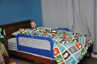 Dutailier Twin Bed frame/Great quality mattress