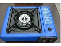 PORTABLE CAMPING GAS COOKER WITH CASE