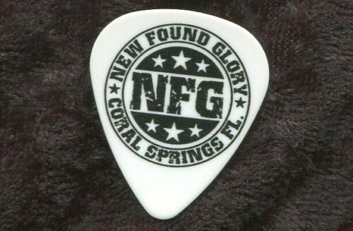 NEW FOUND GLORY 2007 Home Tour Guitar Pick!!! CHAD GILBERT custom concert stage