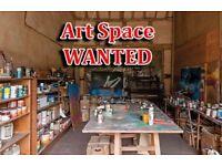 ART STUDIO WANTED !!! [ Space / Garage / Room ]
