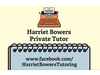 Private Tutor : Early Years to Degree level support