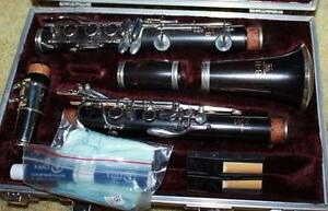Semi-professional wood clarinet