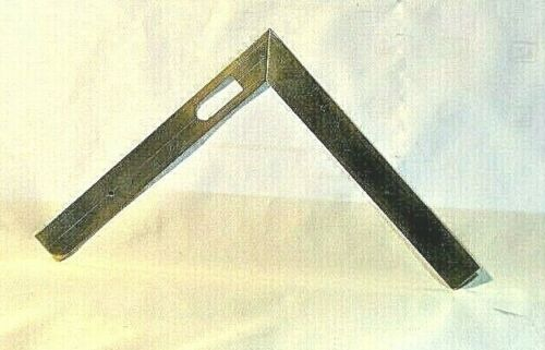 Antique French Folding Brass Sector Meurand Style ca.1800s