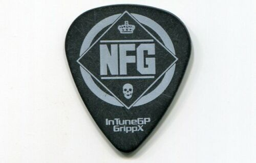 NEW FOUND GLORY 2014 Resurrection Tour Guitar Pick!!! custom concert stage Pick