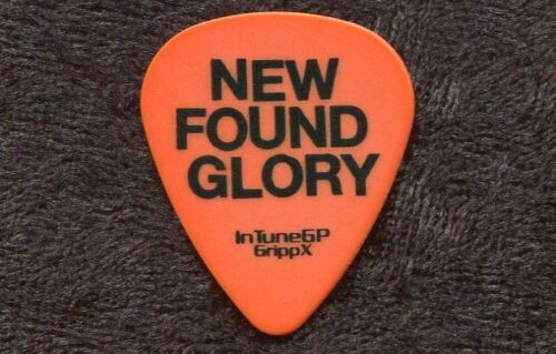 NEW FOUND GLORY 2006 Coming Home Tour Guitar Pick!!! custom concert stage Pick