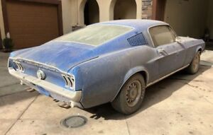 Wanted '67/'68 Mustang Fastback