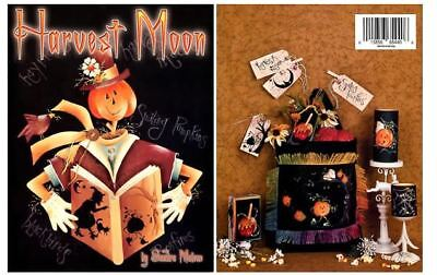 DIY Paint Harvest Moon Halloween Fall Creative Decoration Ideas by Sandra - Halloween Craft Decoration Ideas