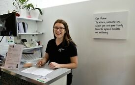 Front of house STAR at a fun, family friendly chiropractic centre in Putney