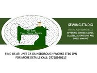 FREE Beginner sewing classes in Stafford