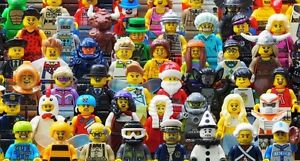Lego minifigures pick and choose