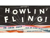 Howlin' Fling 2017 Isle of Eigg - 1 ticket