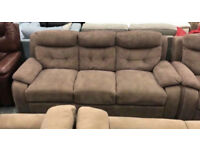 La Z Boy Fabric 3 and 2 seater sofas