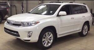 Toyota Highlander hybrid 2013 accident free 85k km