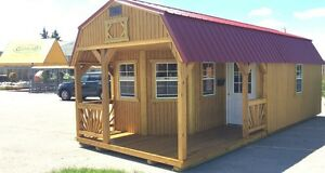 Shed - 12' X 28' Deluxe Lofted Playhouse Barn