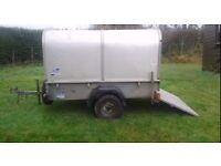 Ifor Williams small stock trailer