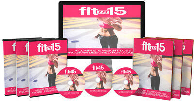 Fit In 15 Exercise Software With Ready Made Sales Page Master Resell Rights