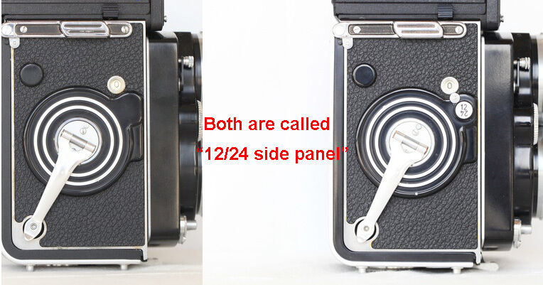 Rolleiflex 3.5F/2.8F TLR replacement leatherette cover pre-cut self-adhesive!