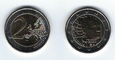 2 Euro Gedenkmünze 2020 aus Finnland, Väinö Linna, bankfrisch, bfr