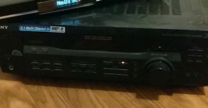 Premium Sony amplifier/stereo receiver - must go asap