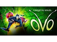 Cirque Du Soleil OVO - Belfast, Saturday 20th October