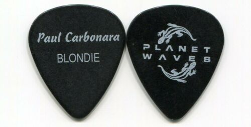 BLONDIE 2005 Tour Guitar Pick!!! PAUL CARBONARA custom concert stage Pick
