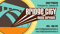 Spice up your wedding or event with Bridge City Music Services..