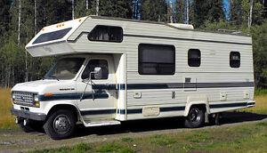 24ft class C motorhome for sale