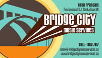Spice up or wedding or event with Bridge City Music Services...
