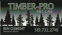 TIMBER PRO TREE CARE ***FULLY INSURED AND LICENSED***