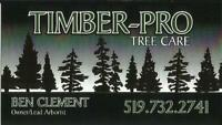 Timber-Pro Tree Care ***FULLY INSURED AND LICENSED***