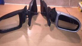 Pair vauxhall corsa b wing Mirrors - Manual -