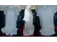 LADIES L.BLUE M&S COTTON KNIGHT DRESS SIZE 16