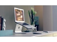 mStand laptop stand - Silver aluminium ideal for Apple MacBook Pro