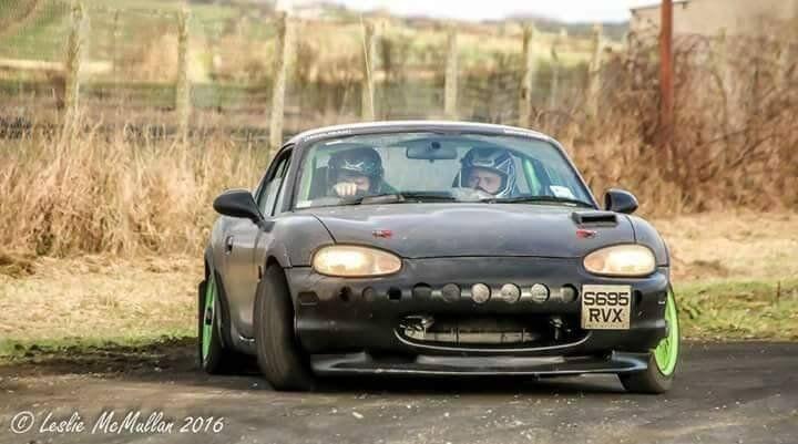 New Mr Rally Car