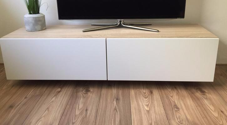 Furniture plan diy modern tv stand for plywood or mdf