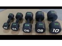 Premium Hex Dumbells Set (2/4/6/8/10) Commercial grade CPU Urethane