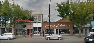 Whyte Avenue Retail Space for Lease