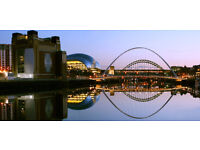 Newcastle Upon Tyne Canvas Picture Panoramic