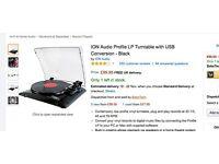 Selling Vinyl Turntable