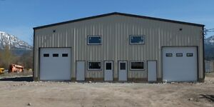 NEW 30 X 60 COMMERCIAL BAY IN FERNIE ,BC