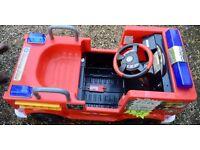 For Sale Fireman Sam 12v Battery Powered Ride On