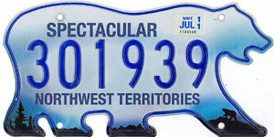 Wanted: Northwest Territories License Plates (Will Pay $$$)